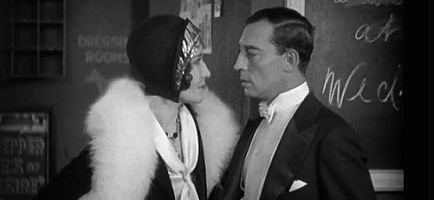 "Buster Keaton's ""Spite Marriage"""